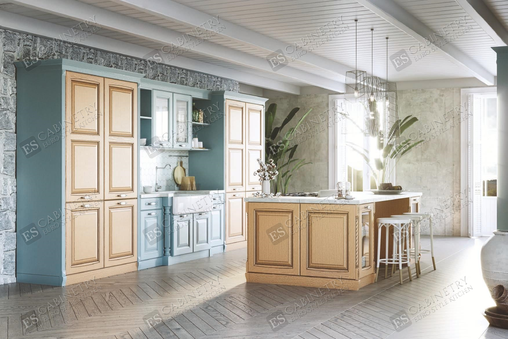 Italian kitchen cabinets | Bellagio