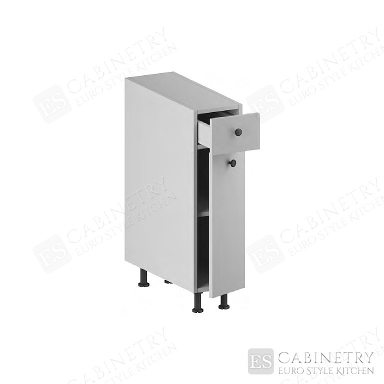 Base Cabinet (Narrow) (1 Drawer, 1 Door & 1 Shelf) for kitchen
