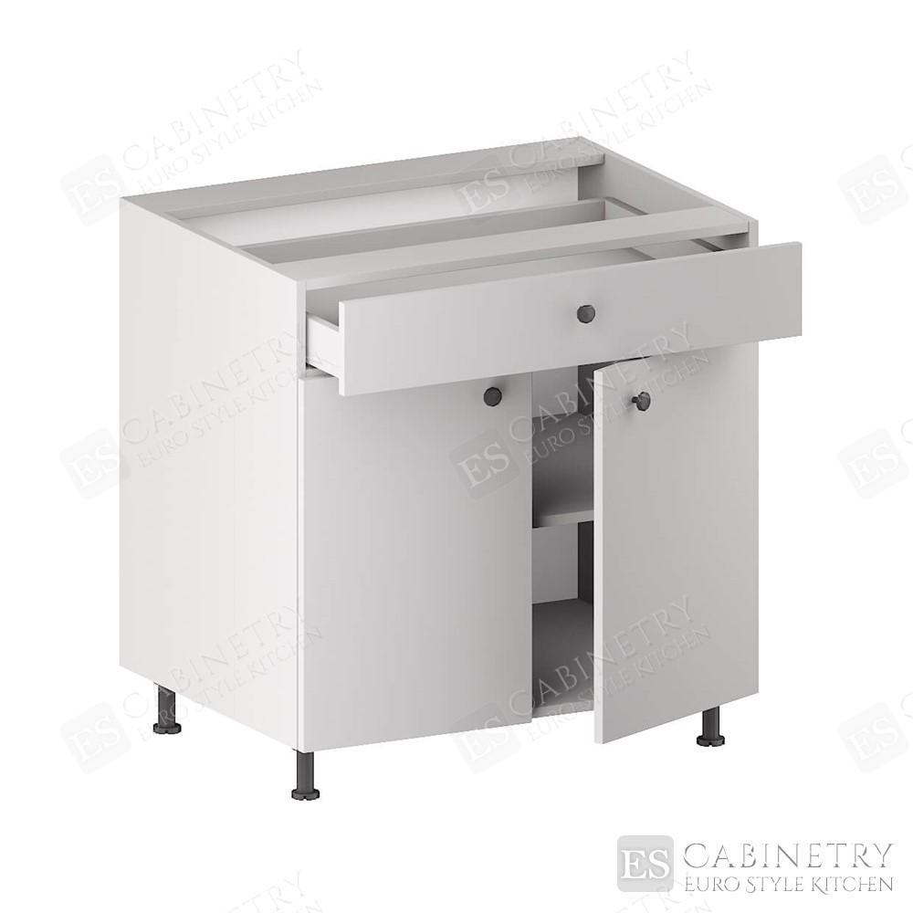 Base Cabinet (1 Drawer, 2 Doors & 1 Shelf) for kitchen