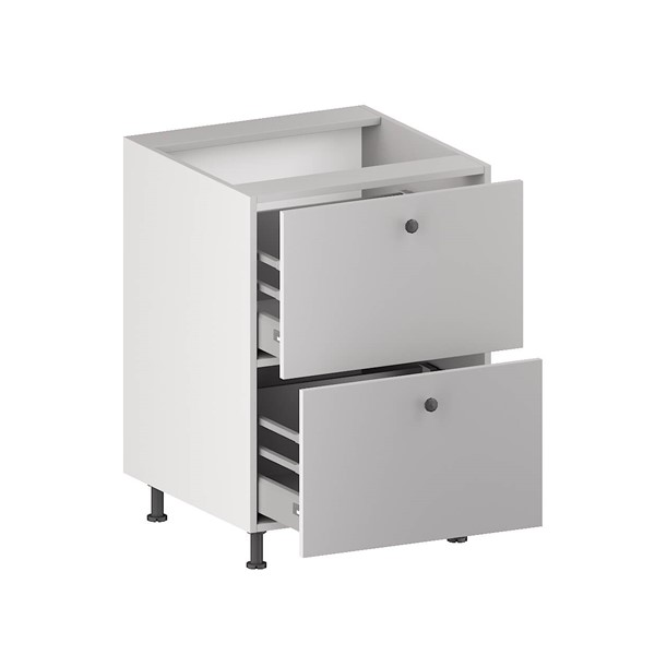 Base Cabinet (2 Equal Drawers) (ITA) for kitchen