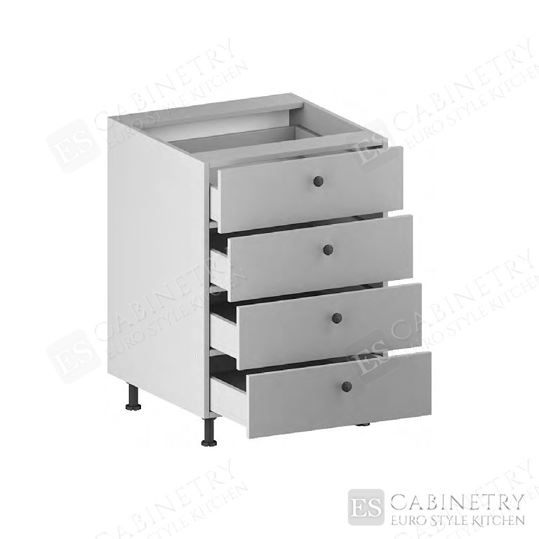 Base Cabinet (4 Drawers) for kitchen