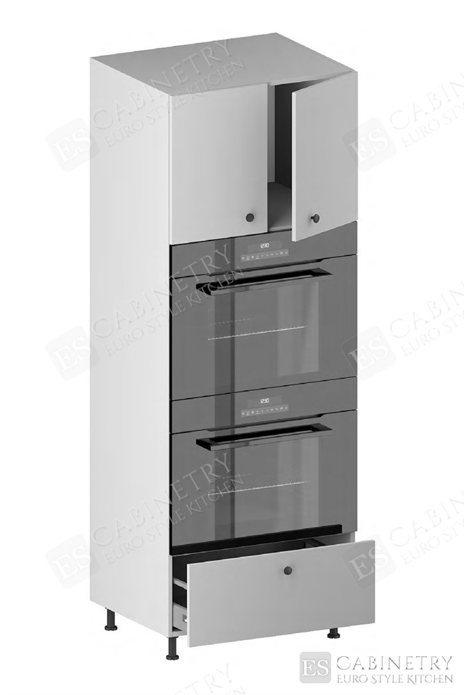 Tall Double Oven Housing Cabinet (2 Doors, 1 Opening, 1 Drawer) (ITA) for kitchen