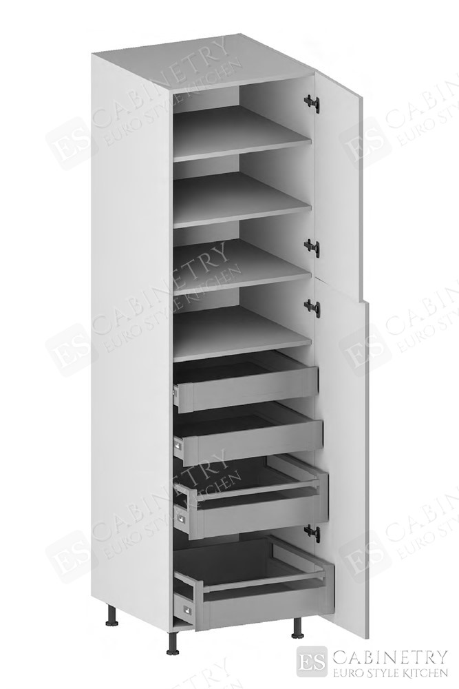 Pantry Cabinet (4 Drawers, 2 Doors & 3 Adjustable Shelves) (ITA) for kitchen