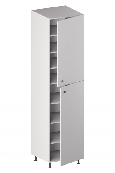 Pantry Cabinet (2 Doors & 6 Adjustable Shelves) for kitchen