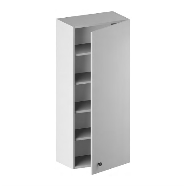 Wall Cabinet (1 Door & 4 Shelves) for kitchen