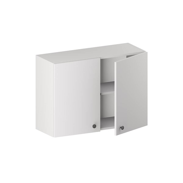 Wall Bridge Cabinet (2 Doors & 1 Shelf) for kitchen